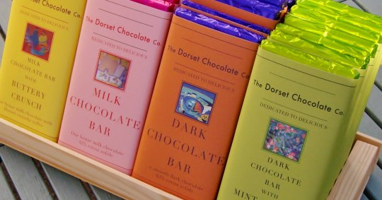 The Dorset Chocolate Co - chocolate bars!